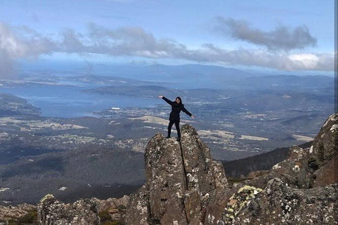 Mt Wellington ONE WAY WALKERS Tour, great option for bushwalkers