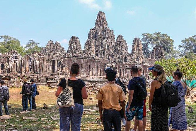 Angkor Wat full day tour -Kampong pluk Fishing Village- Small Group