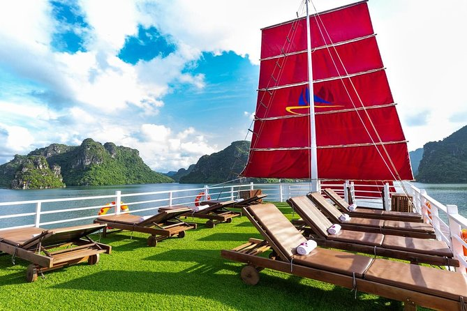Halong Bay Full Day Amazing Luxury Sails photo 3
