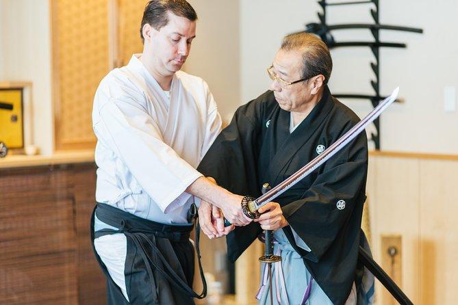 Private Katana Sword Lai Lesson with a Samurai Descendant