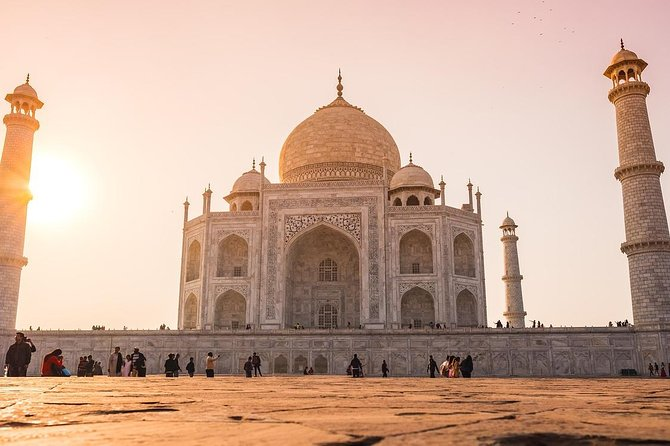 Private Taj Mahal Sunrise & Sunset 2-Day Tour From Delhi