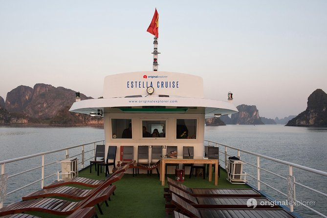 Luxury Lan Ha Bay 1 Day - Estella Cruise - 8hrs cruising with Limousine transfer