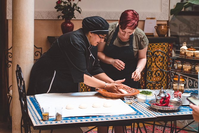 Moroccan cooking lessons in the Medina of Marrakech