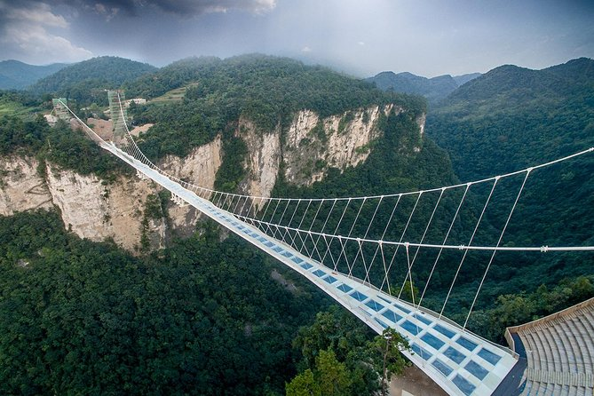 One-Day Zhangjiajie Private Tour: Grand Canyon Glass Bridge & Baofeng Lake
