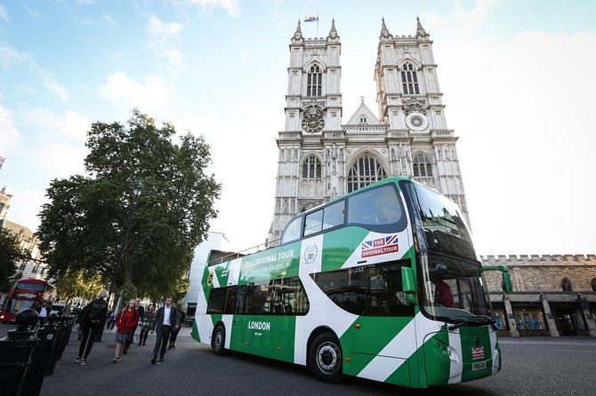 The Original Tour London: Hop-on Hop-off Bus Tour & Westminster Abbey