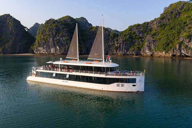 Halong Bay 1 Day With The Most Luxurious Day Cruise ( 5 Star )