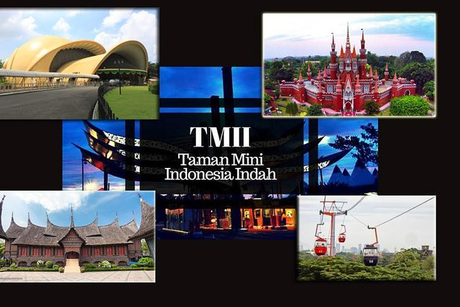 Taman Mini Indonesia, Private tour with Guide and Lunch