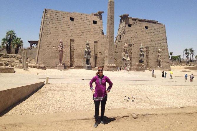 East bank of luxor Karnak and Luxor temple