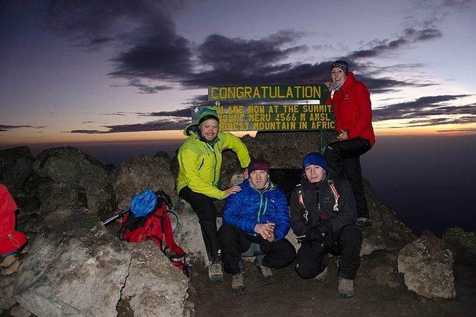 Mount Meru 3 Day Climb in Arusha Tanzania