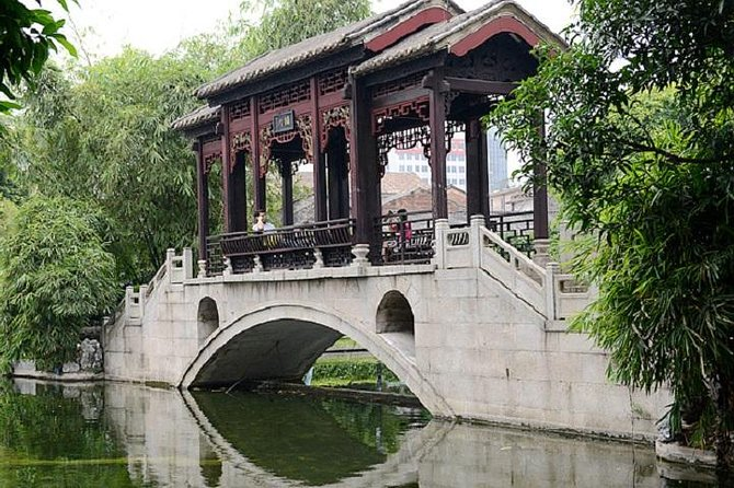 Chinese classical garden and lion dance&Kungfu show private tour