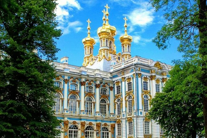 Catherine Palace in Pushkin/Tzarskoe Selo/ Mini-Group Tour. Amber Room & Gardens photo 1