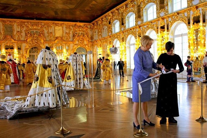 Catherine Palace in Pushkin/Tzarskoe Selo/ Mini-Group Tour. Amber Room & Gardens photo 7