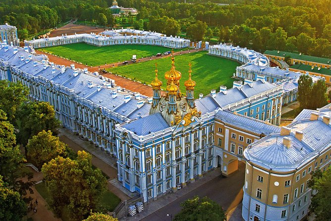 Catherine Palace in Pushkin/Tzarskoe Selo/ Mini-Group Tour. Amber Room & Gardens photo 11