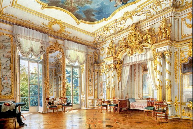 Catherine Palace in Pushkin/Tzarskoe Selo/ Mini-Group Tour. Amber Room & Gardens photo 2