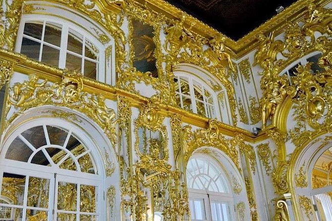 Catherine Palace in Pushkin/Tzarskoe Selo/ Mini-Group Tour. Amber Room & Gardens photo 8
