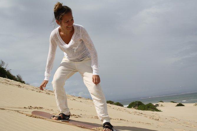 Sand Surfing Jeffreys Bay
