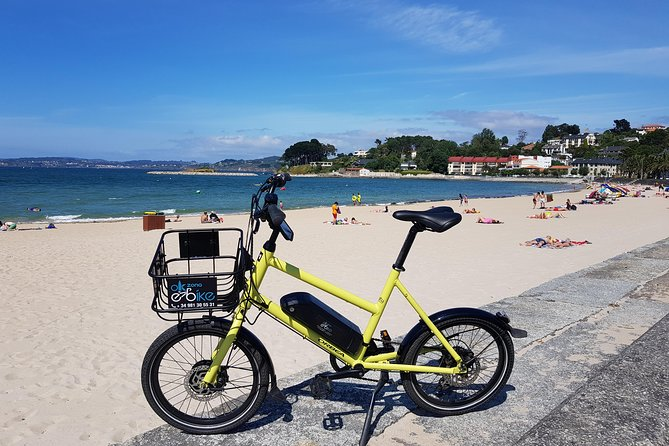 Coruña to Oleiros by Electric Bicycle (Beaches)