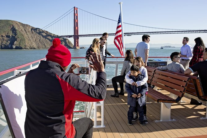 Straight to the Gate Access: San Francisco Bridge-to-Bridge Cruise