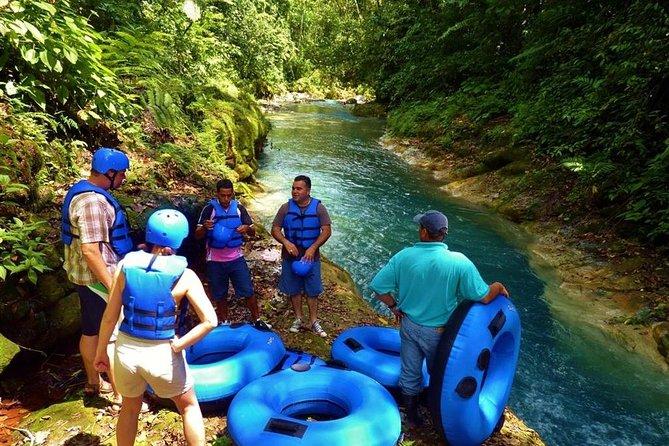 Water Tubing and Hot Springs Eco Adventure at Rincon de la Vieja from Playa Hermosa