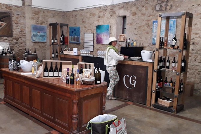 Tasting of wines from castle of GREZAN - FAUGERES photo 3