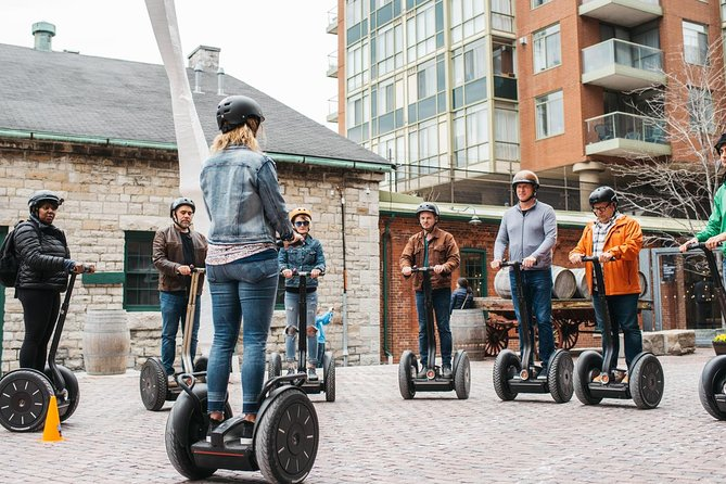 50-Minute Distillery District Segway Tour