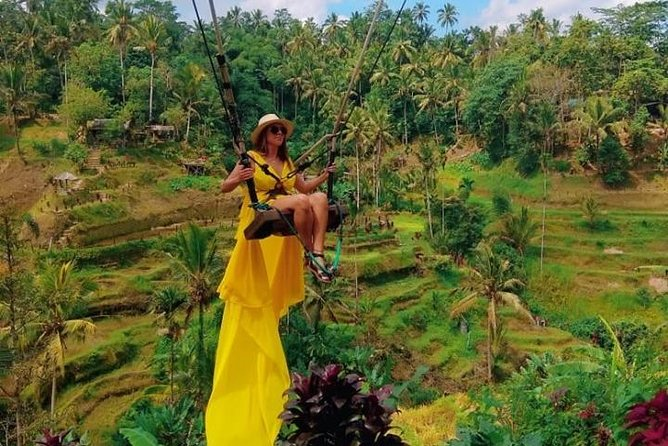 Best of Bali Jungle Swing with Ubud Sightseeing Tour