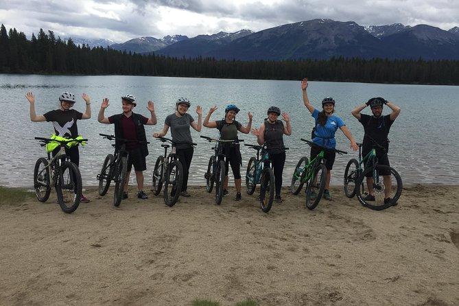 3hr Private Mountain Bike Tour in Jasper National Park