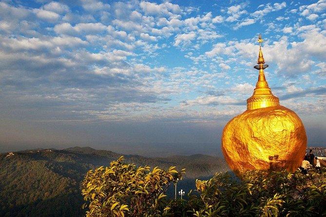 Yangon - Kyaikhtiyo (Golden Rock) - Yangon Day Return