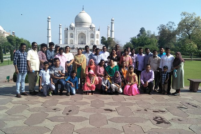 Same day agra tour with Guied
