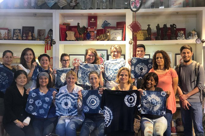 Half-day(3-hour) Creative Chinese Heritage Art Tie-dying Workshop from Hangzhou
