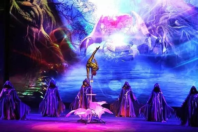 Fantastic Acrobatic show in Beijing with transfer