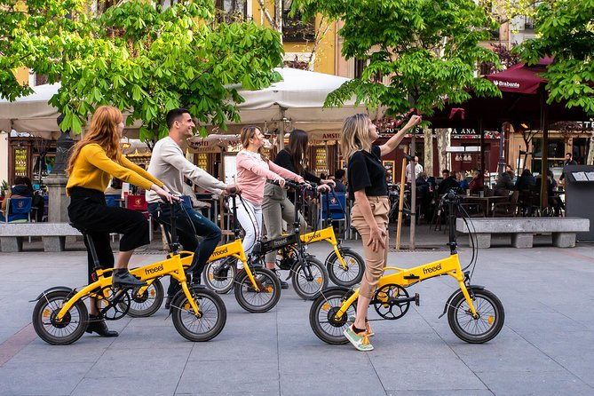 Madrid eBike Tour with Cable Car + Madrid Tapas Tour - Full Day Pack