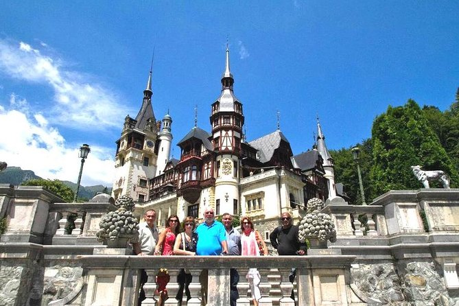 Small-Group Day Trip to Dracula's Castle, Brasov and Peles Castle from Bucharest