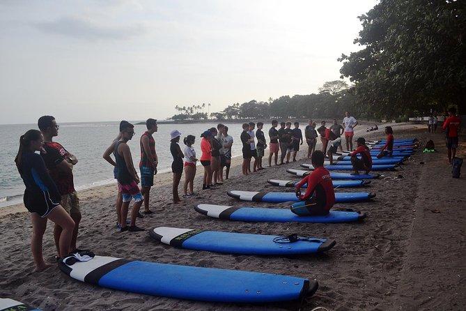 Group Surf Lesson Senggigi Lombok