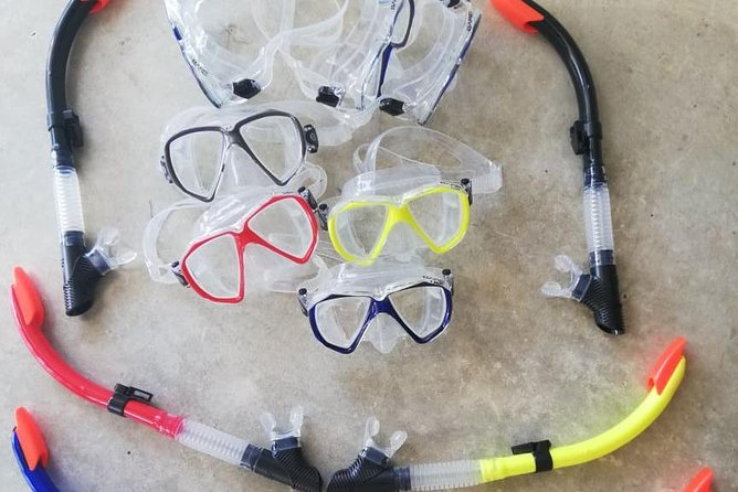 Mask and snorkel photo 1