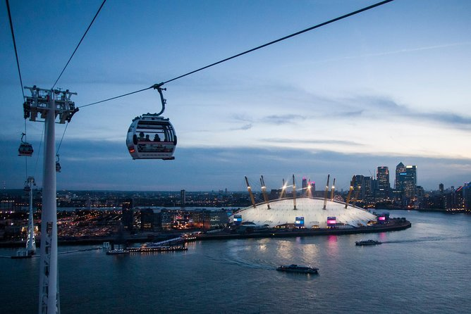 Combi Ticket: Climb The O2 & Go Up High (Emirate Cable Car) London Day Out
