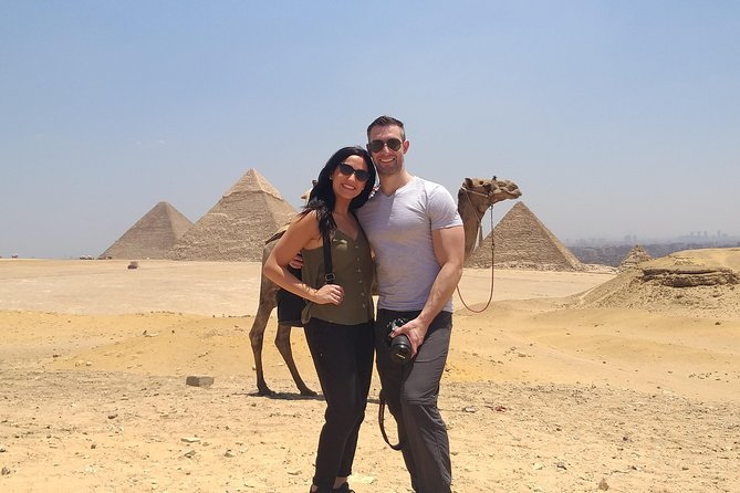 Private tour: Giza Pyramids,Sphinx,Egyptian Museum &Bazaar with Camel Ride&Lunch