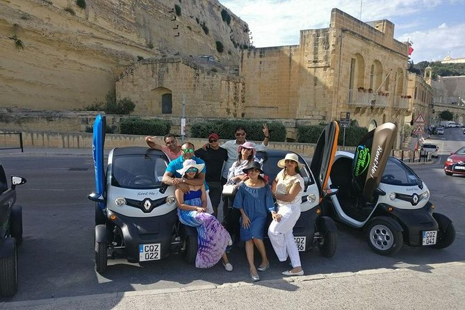 FULL Day Eco Twizy 2 seater self drive Malta tour