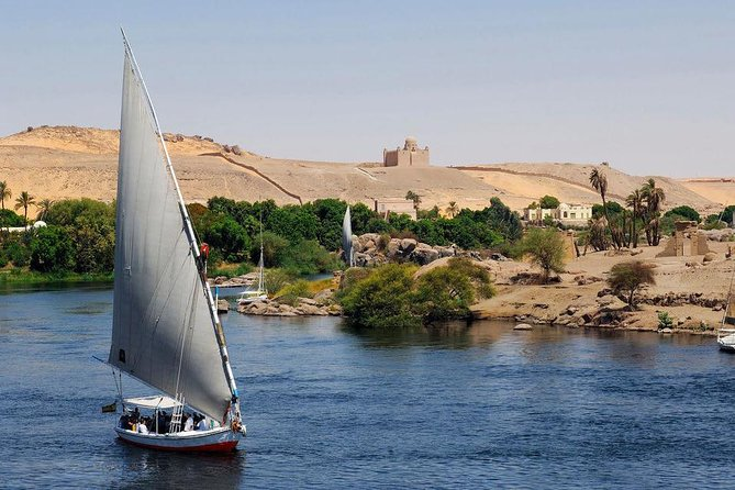 Luxor: Half Day Felucca Boat Ride with Banana Island Visit