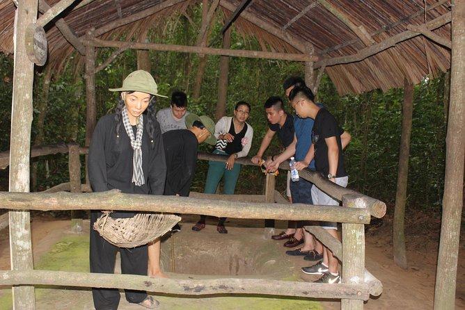 Cu Chi Tunnels & Saigon Sightseeing Tour 1 Day
