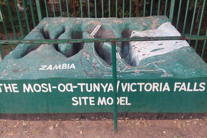 The Victoria falls site model
