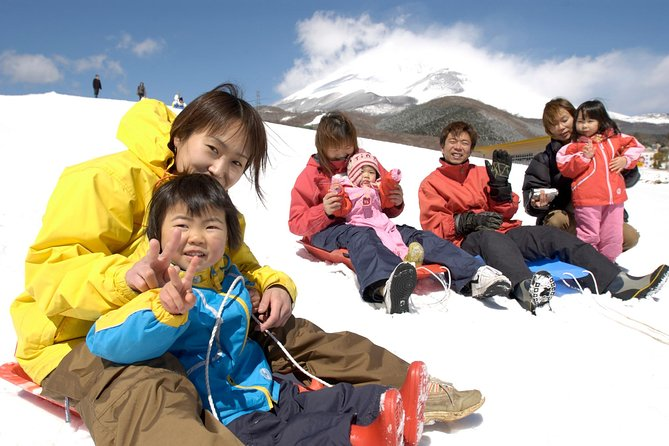 Winter Fun at Mt. Fuji: Fujiyama Snow Resort Yeti & Strawberry Picking photo 4
