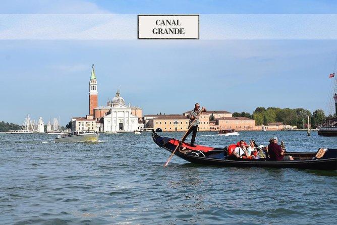 Venecia: fascinante paseo en góndola por el Canal Grande
