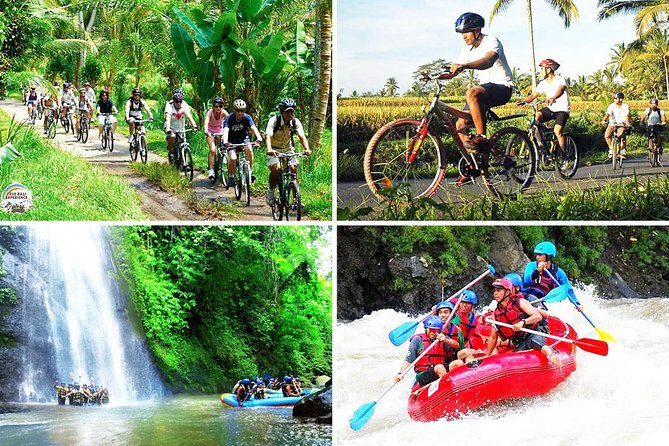 Bali Cycling and Ayung Rafting Packages