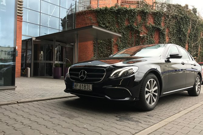 Truly VIP Airport Transfer in Krakow (KRK) | Mercedes E-Class with iPad