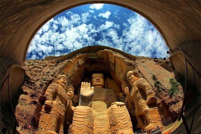 Lanzhou Private Day Trip to Tianti Grottoes, Luoshi Pagoda and Leitai in Wuwei