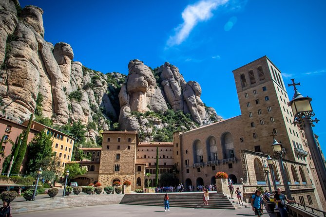 Montserrat Monastery with Cava & Wine Tasting SMALL GROUP Tour from Barcelona