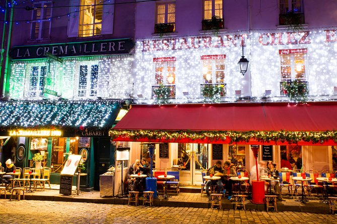 Montmartre Poetic Photo Walk by night