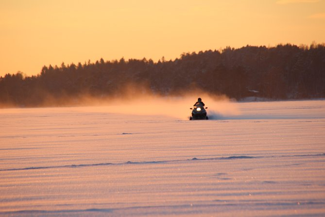 Snowmobile Safari & Ice Fishing