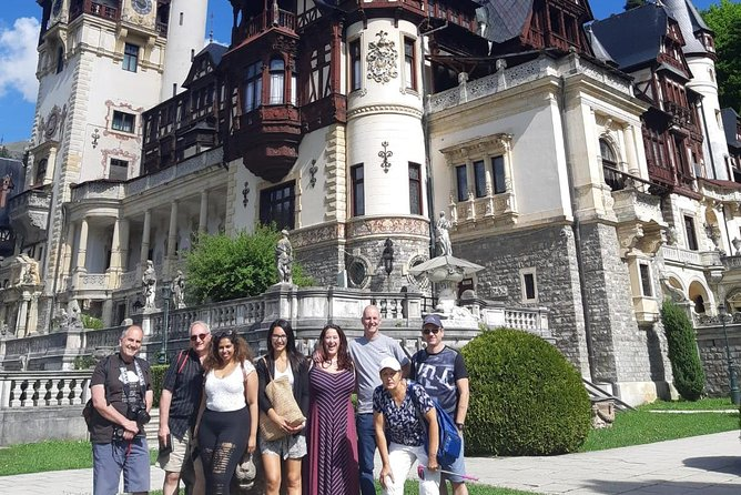 Peles Castle, Dracula's Castle and Medieval Town of Brasov in one day